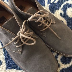 J & M Johnston and Murphy grey chukka boots 9.5M